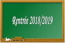 L'essentiel de la rentrée 2018 (calendrier, services aux familles offerts par l'UPE et autres infos utiles)