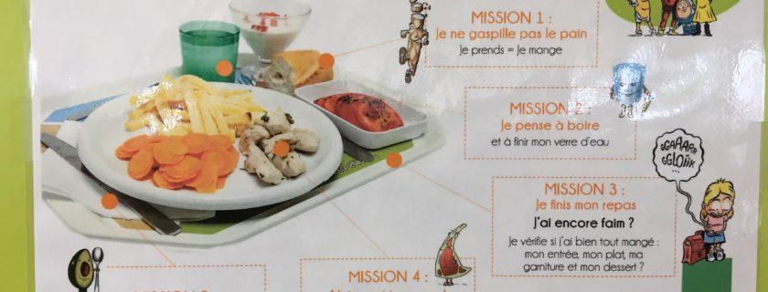Arrêt sur images : Visite du restaurant scolaire jeudi 19 septembre
